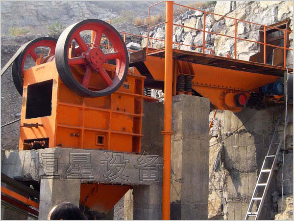 High Efficiency Stone Jaw Crusher by China Company