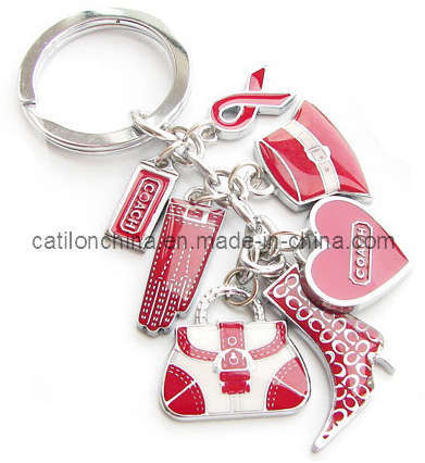 Promotional Gift Metal Key Chain Key Ring (K197)