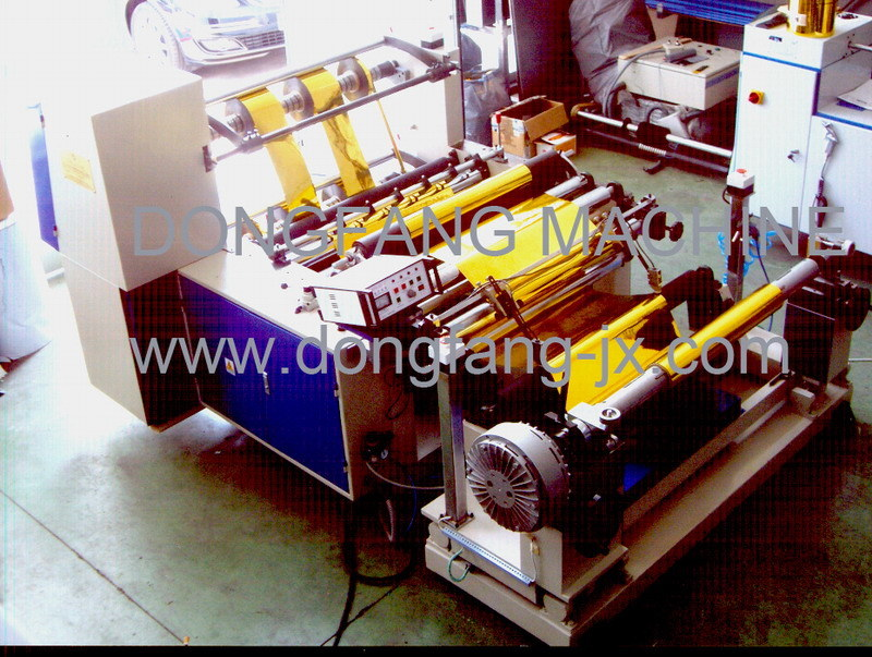 Automatic Slitting and Rewinding Machine (QFJ650-1300)