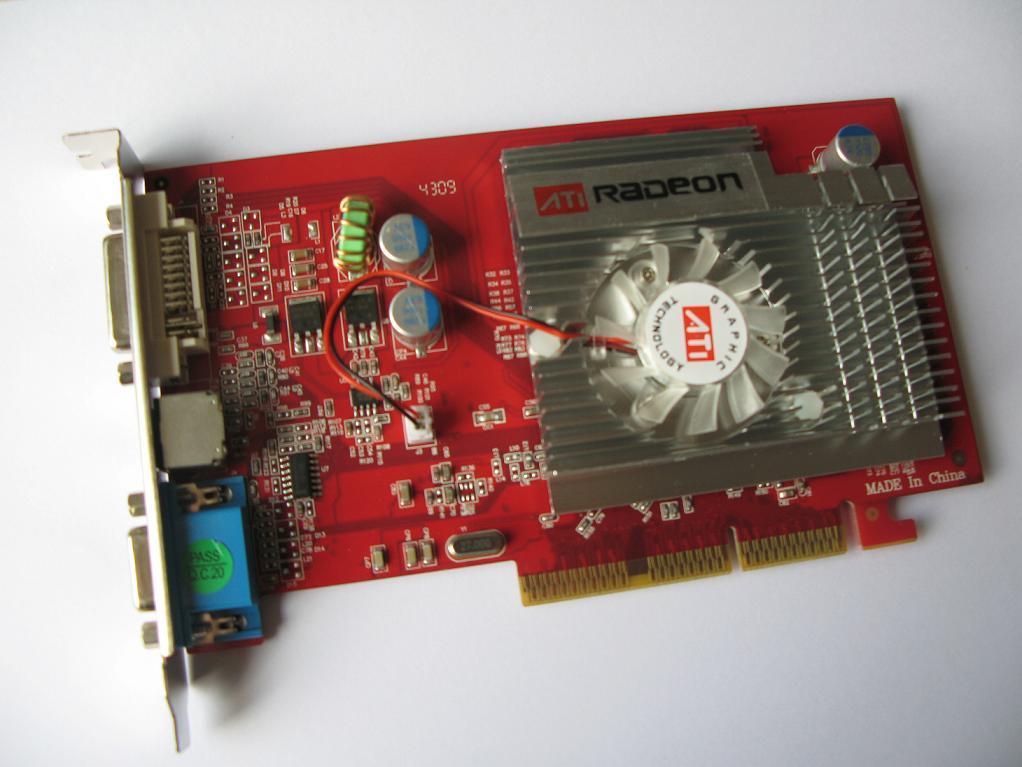 Radeon 9550 драйвер