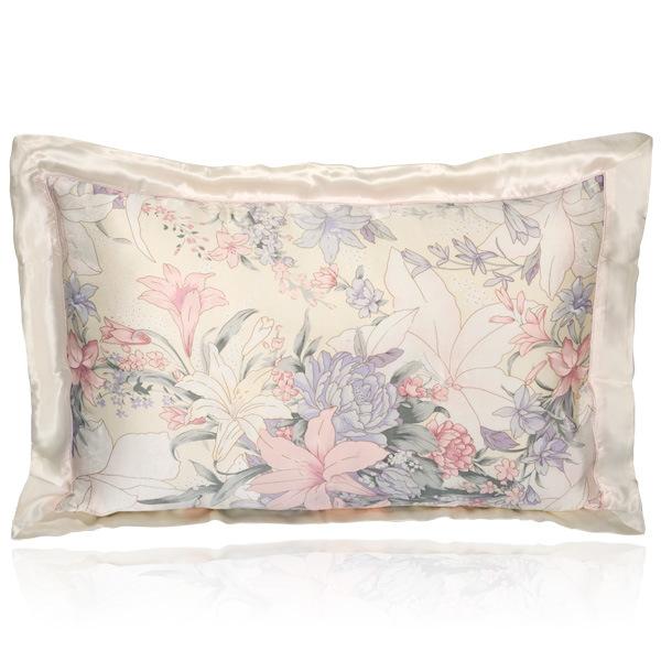 16mm Printed Silk Pillowcase China Silk Pillowcases