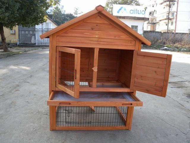 Rabbit Hutch Pcrh 8091 China Rabbit Hutch Rabbit House