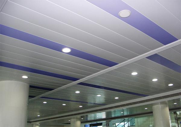 Panel Aluminium Strip : China aluminium linear strip ceiling panels xsc