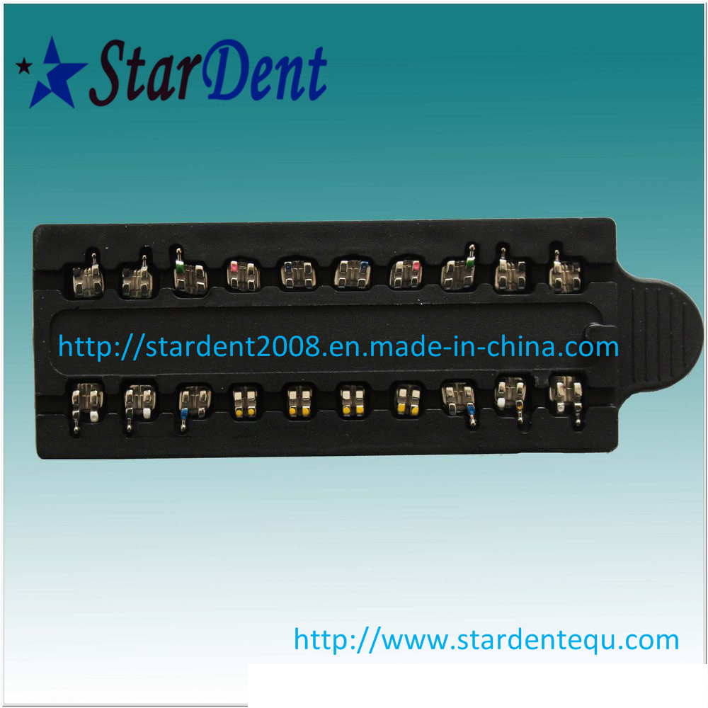 Dental Mini Metal Brackets with Ce & FDA of Hospital Medical Lab Surgical Diagnostic Equipment