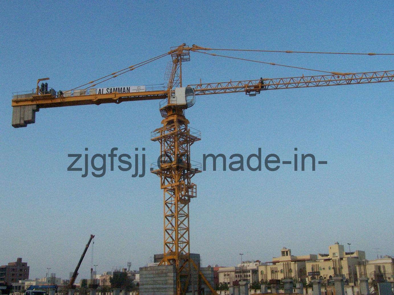 Tower Crane Productivity : China tower crane fs k qtz