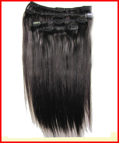 Clip On Hair Extensions For Black Hair 38