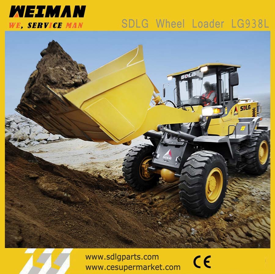China Earth Moving Machinery Sdlg 3t Front End Wheel Loader LG938L for Sale