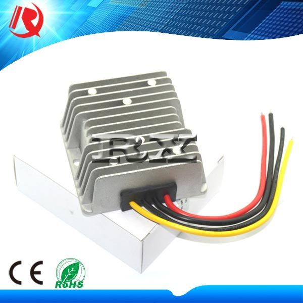 12V / 24V Turn 5V 20A 100W DC-DC Buck Converter Automotive Vehicle Displays Waterproof Power Supply