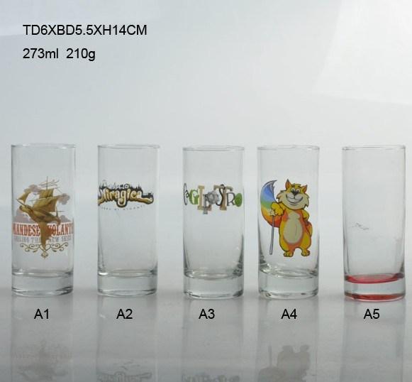 Glass Blown Cup (29-0007-14-BA)