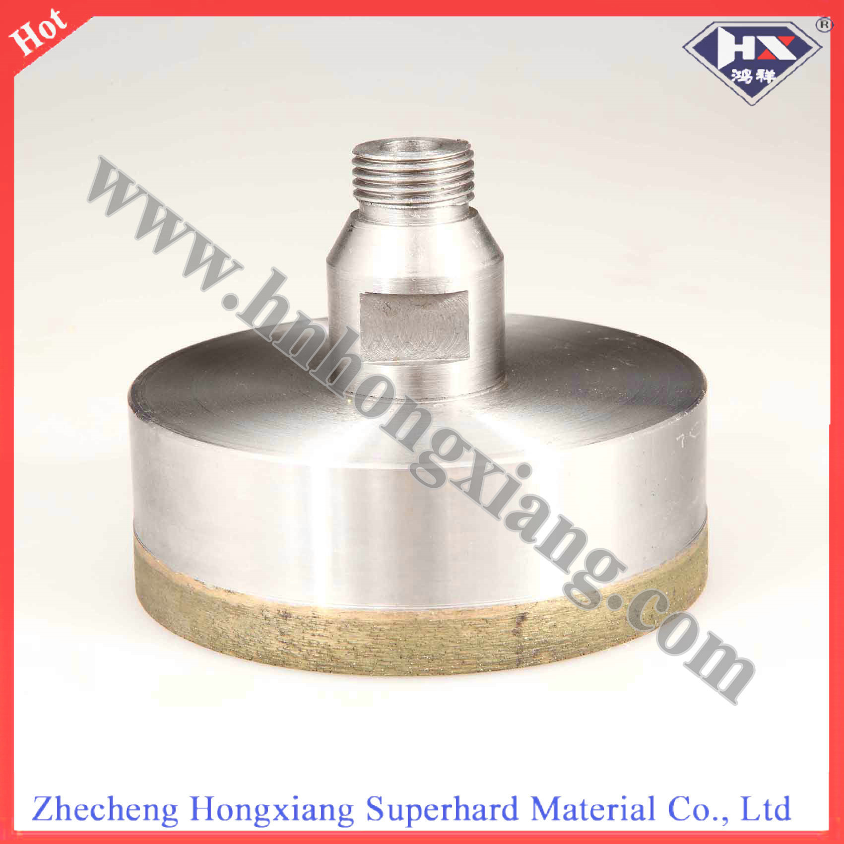 75L Thread Diamond Core Drill Bit for Glass