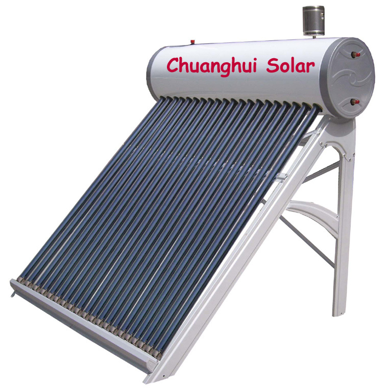 Copper coils solar water heater china copper coils solar for Copper hot water tank