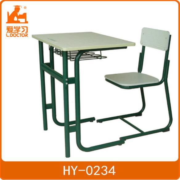 Unadjustable School Furniture in Single Classroom Desk Chair