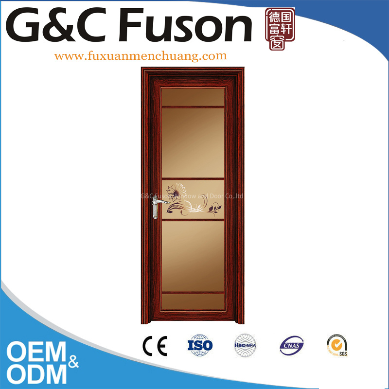 Aluminum Casement Shower Room Glass Door Design (FX-15114)
