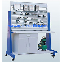 Electro Pneumatics Trainer Coach Pneumatic Workbench Technical Teaching Aids Didactic Equipment