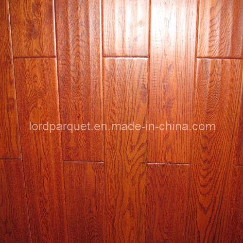 China solid red oak hardwood flooring lds o03 china for Red oak hardwood flooring