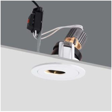 50W Anti-Glare MR16 Halogen Recessed Downlight (R4B0039)
