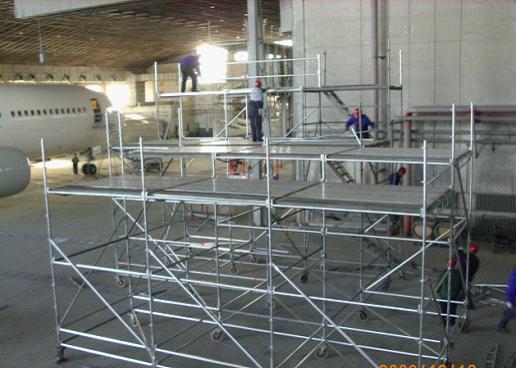 Steel Scaffolding Manufacturers : China steel ring lock scaffolding ringlock