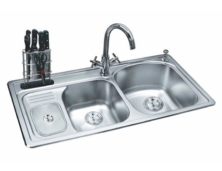 Kitchen on Steel Kitchen Sink  304   702    China Kitchen Sink Kitchen Basin