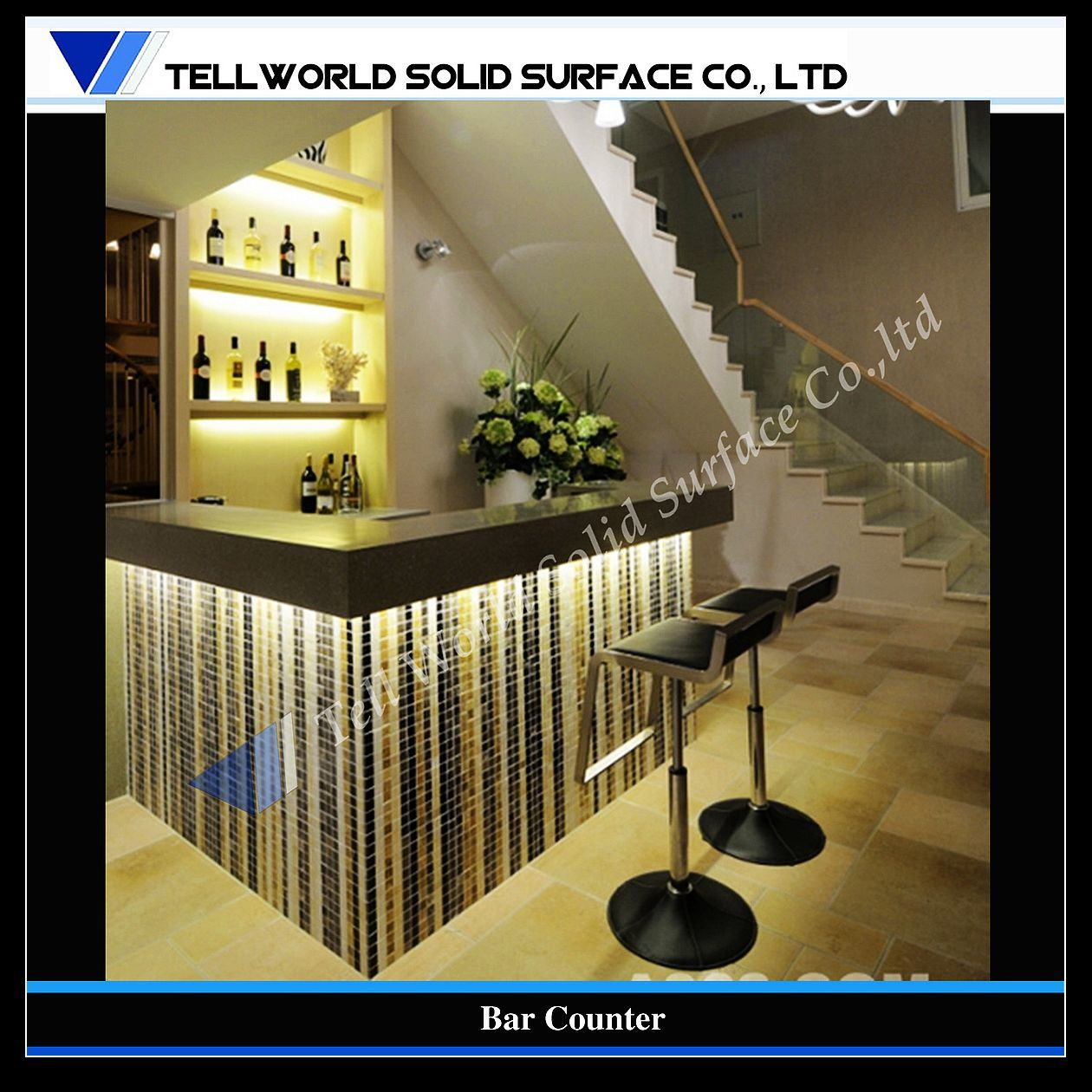 China shinning design modern commercial bar counter tw 036 photos pictures made in - Contemporary bar counter design ...