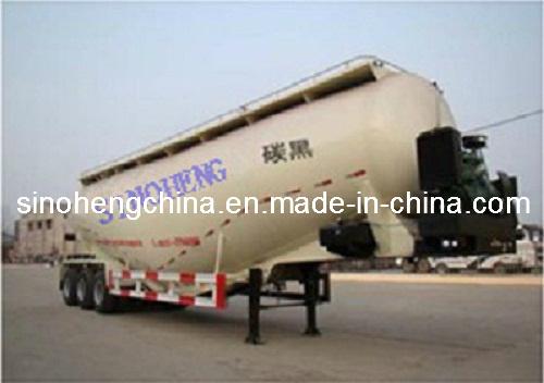 3 Axles Bulk Powder Tank Transport Semi Trailer