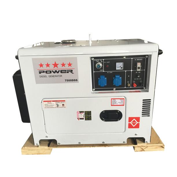 5kw Silent Type Diesel Generator 6500ds