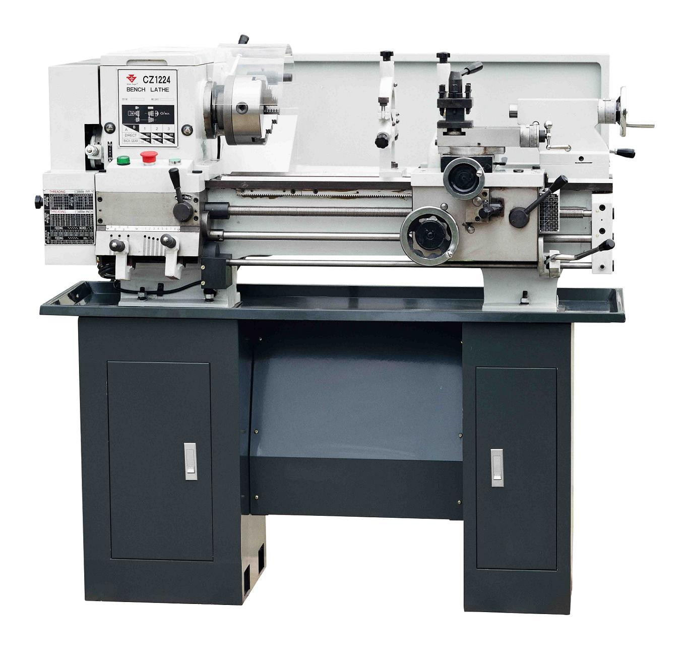 China Bench Lathe Cz1224 Cz1237 Photos Pictures Made In