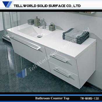 New Design Marble Top Sink White Bathroom Sink Bathroom Vanity Bathroom Sink and Counter