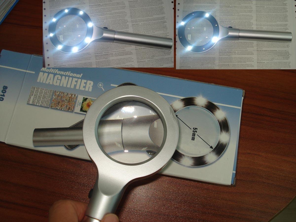8 LED Magnifier