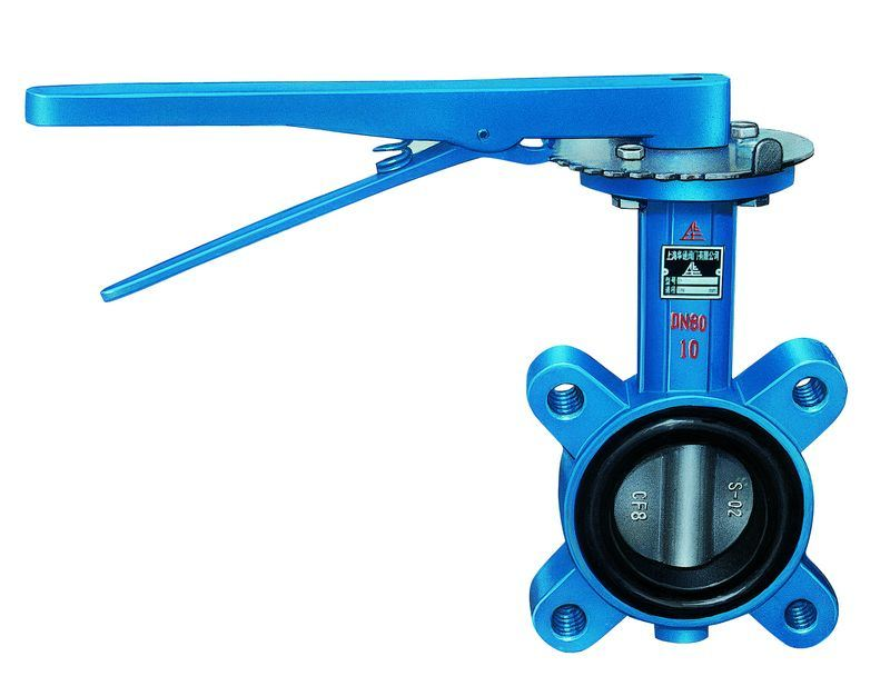 Lever Butterfly Valve : China handle butterfly valve