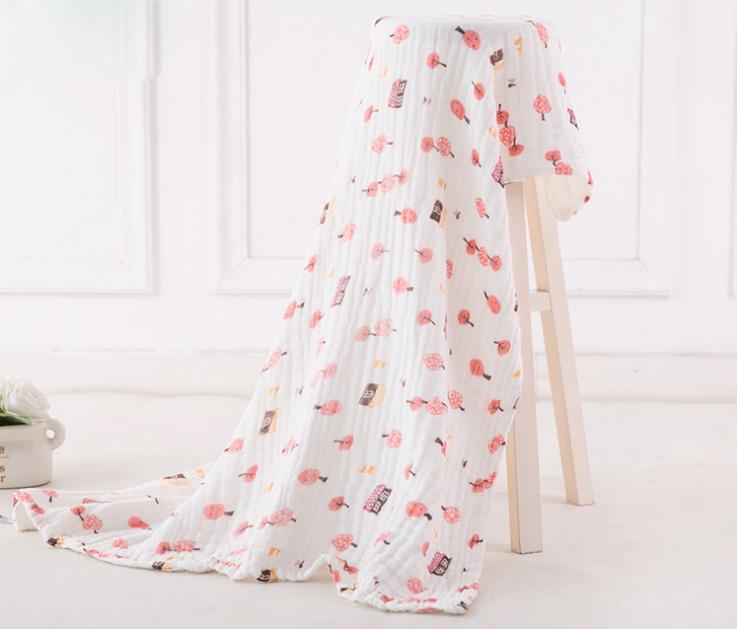 High Quality Baby Muslin Blanket Swaddle Blanket with Elegant Design