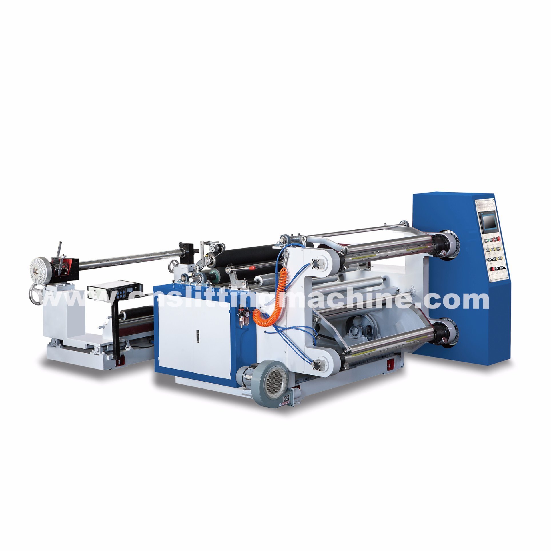 PLC Horizontal Paper and Film Slitting Machine