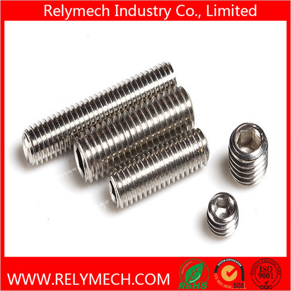 Hex Socket Head Set Screw with Cup Point in Stainless Steel 304