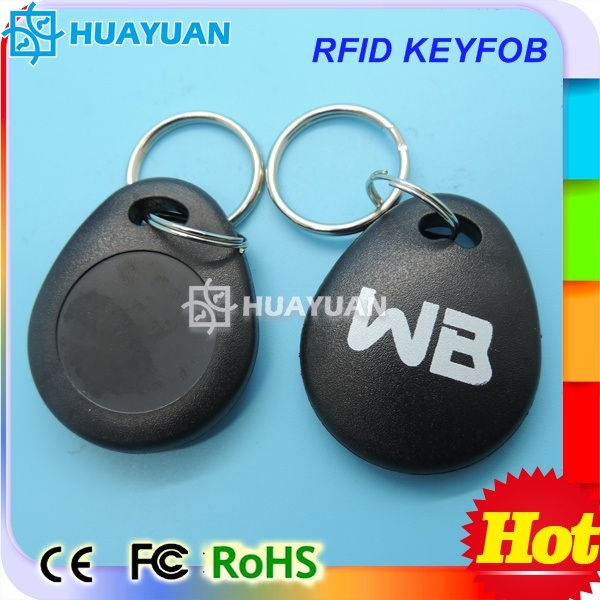 125kHz TK4100 Access Control RFID Proximity Keychain tag