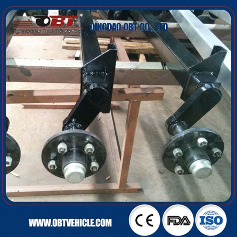 500 Kg Rubber Torsion Axle Without Brake