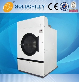 50 Kg Industrial Electric Gas Heating Laundry Equipment Dryer Machine