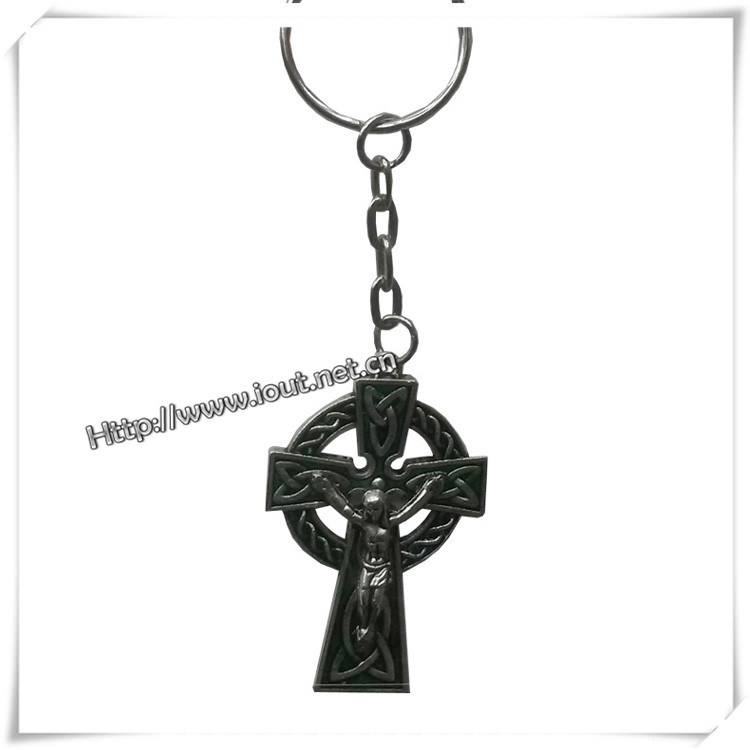 Jesus Cross Key Chain Religious Cross Key Chain Christian Cross Key Chain (IO-CK061)