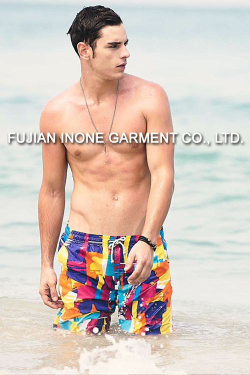 Inone W006 Mens Swim Casual Board Shorts Short Pants