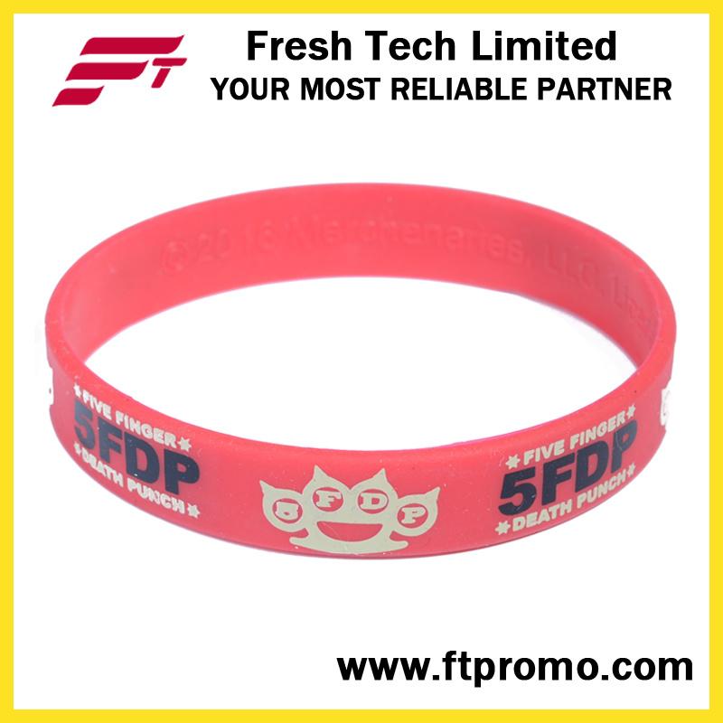 OEM Company Promotion Gift Silicone Wristband