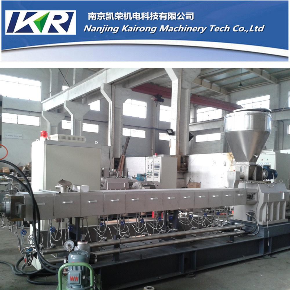Twin Screw Plastic Compounding CaCO3 Fill Masterbatch Machine