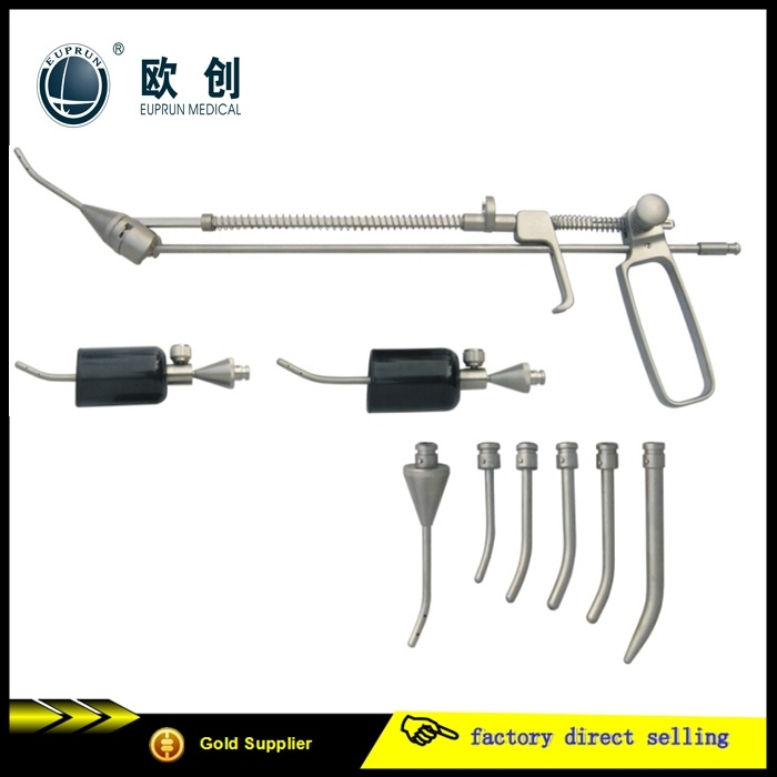 Gynaecology Surgical Instruments Spring Cup Type Uterine Manipulator Set