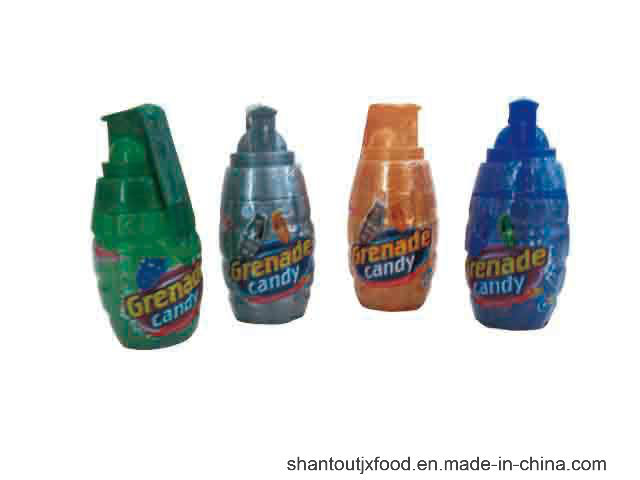 Grenade Shape Bottle Candy Toy Candy