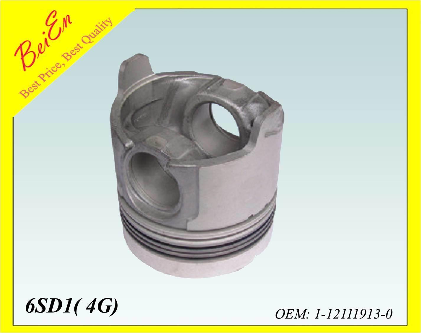 Good Quality Piston for Excavator Engine 6SD1