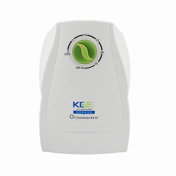 300mg/H Timer Control Ozone Generator Air and Water Purifier for Vegetables and Fruit