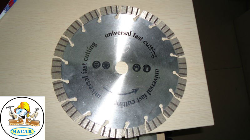 Arix Laser Welded Diamond Saw Blade for Concrete/Stone/Marble