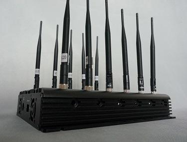Desktop WiFi 2.4G 5.8g Signal Jammer (12 Antennas)