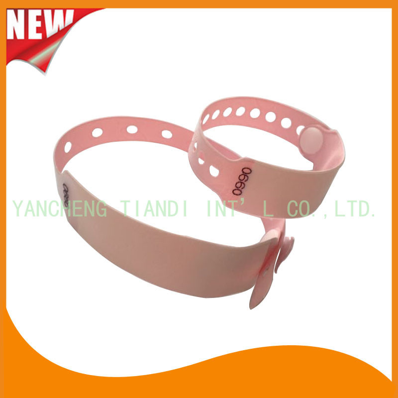 Hospital Mother and Baby Write-on Disposable Medical ID Wristband (6120B6)
