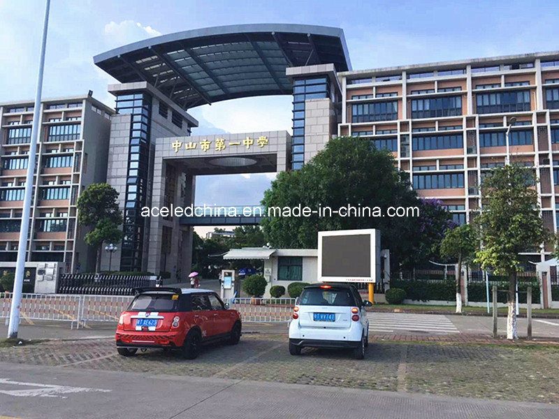 Advertising Outdoor LED Wall P6