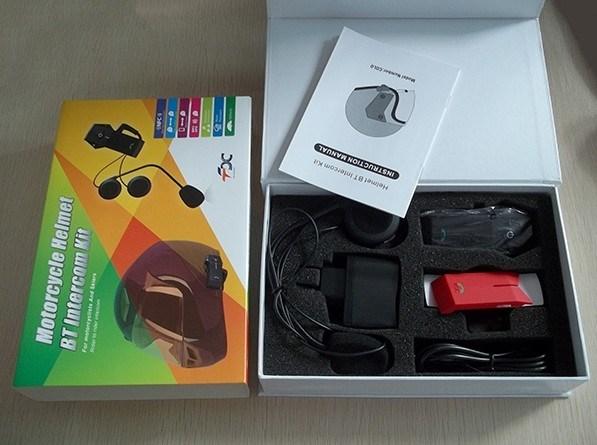 OEM 1000m Wireless Bluetooth Intercom for Moto Helmet