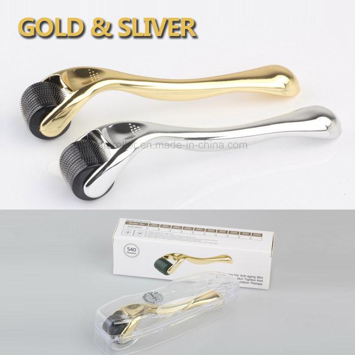 Golden Handle Drs Microneedle 540 Derma Roller