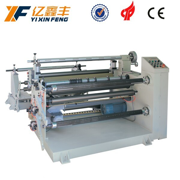 Auotmatic BOPP Adhesive Tape Fabric Paper Slitting Machine